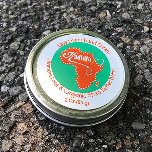 Kadidja organic hand cream made of shea butter